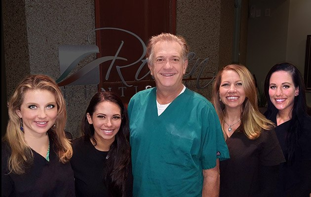 The Rowen Dentistry team and Dr. Rowen